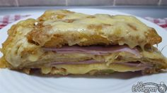 Sajtos rakott tök Lasagna, Sandwiches, Ethnic Recipes, Food, Essen, Meals, Paninis, Yemek, Lasagne