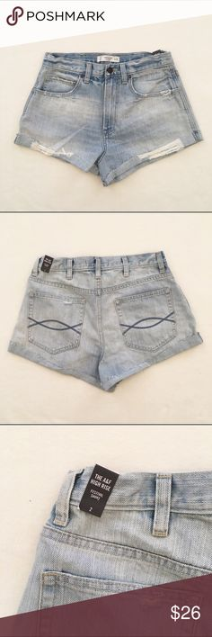 """A&F """"Festival Shorts"""" All sales will go towards my medical school tuition :)  Bundle for additional discounts. Reasonable offers are welcomed! LOW BALL OFFERS WILL BE IGNORED. (Also selling on 〽️ for less) Abercrombie & Fitch Shorts Jean Shorts"""