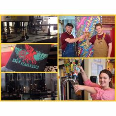 It's #NationalBeerDay so what better way to spend it than taking a #brewery #tour @theflyingmonkeys in #DowntownBarrie ! Did you know they #bottle 11,000-12,000 a day in this fine #Barrie #brewhouse ?  #Cheers to local beers! #VisitBarrie #getoutandplay #localbrewery #TheFlyingMonkeysCraftBrewery