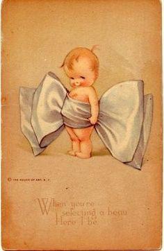 Vintage Cards, Vintage Postcards, Vintage Images, Cute Disney Wallpaper, Cute Cartoon Wallpapers, Baby Barn, Baby Posters, Baby Illustration, Decoupage Vintage