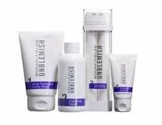 Our Unblemish Regimen for acne and post acne marks.   Become my Preferred Customer and receive 10% off the retail price and Free Shipping!