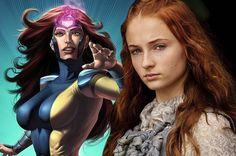Sansa Stark interpretara a Jean Grey no próximo filme dos X-MEN