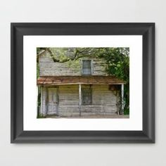 The Good Old Days Framed Art Print by Mark Giarrusso | Society6