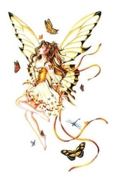 butterfly faries | The Fairy Saddle Legend