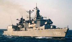 F 823 HNLMS Philips van Almonde - Kortenaer Standard Class Frigate - Royal Netherlands Navy
