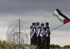 We will return Palestinian children looking longingly into Palestine from the Lebanese border