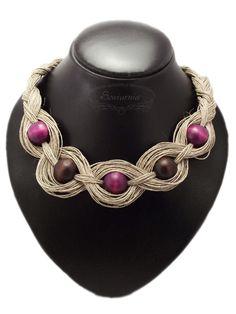Linen Necklace