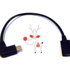 Cablu USB Type C mufa 90 grade la micro USB mama, negru, Usb, Type