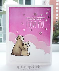 """I Love You"" by Handmade by Yuki 
