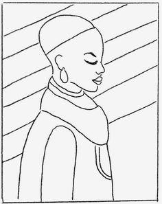 Image Result For Desenhos Para Pintar Negras Africanas Africa
