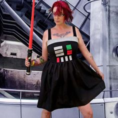 Darth Vader Star Wars inspired costume cosplay dress