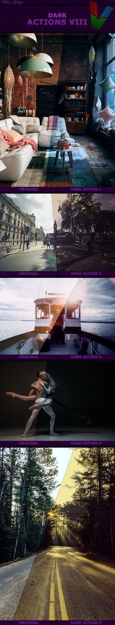 Dark Photo Effect Photoshop Actions. Download here: https://graphicriver.net/item/dark-actions-viii/17364903?ref=ksioks
