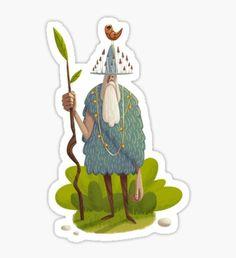 Woodsman Pegatina
