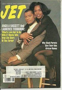 Jet Magazine 6 21 1993 Angela Bassett Laurence Fishburne African Names 4 Kids Jet Magazine, Black Magazine, Ebony Magazine Cover, Magazine Covers, Sports Day Poster, Vintage Black Glamour, Black Tv, Black Actors, Vintage Magazines