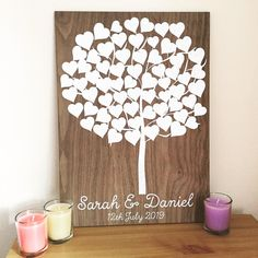 tree guest book wedding guest book laser cutter ideas - laser engraved wedding ideas. #laserengraved #lasercutting #rusticwedding