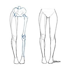 I just posted a small leg anatomy tutorial on @hibayume for beginners  I still need to improve lots on my anatomy but just wanted to share what I've learned so far! Good luck practicing  #art #artist #draw #drawing #anatomy #legs #tutorial by hiba_tan