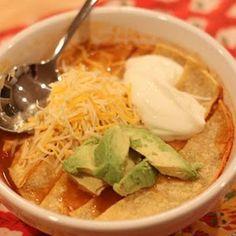Crock Pot Chicken Tortilla Soup Recipe | Key Ingredient