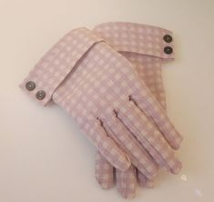 I'd love to make a pair of gloves! I've heard they're tough to do, but I'm excited to give it a try!