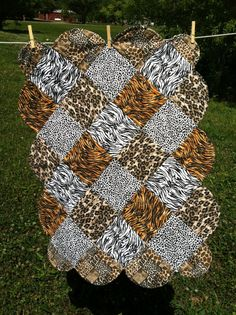 animal print quilts   leopard quilt - number 2: I'd like to make a ... : animal print quilt patterns - Adamdwight.com