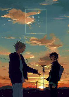 Anime Art, Illustrations And Posters, Manga Covers, Anime Scenery, Manga Illustration, Alice Book, Illustration Art, Aesthetic Anime, Aesthetic Art