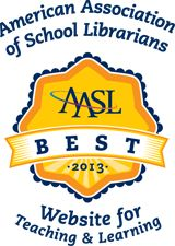 Best Websites for Teaching & Learning 2013 | American Association of School Librarians (AASL)