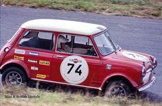 John Handley at the 1969 Nurburgring race