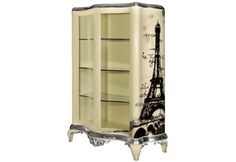 Traditional Storage Furniture With Retro Style Graffiti | DigsDigs