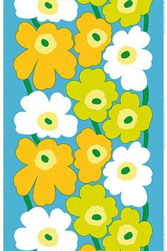 Spring is coming... We're getting a head start on cleaning! Marimekko flowers are set to bloom any day now!