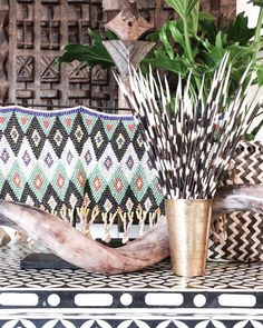 Village - Tribe Accents  Exploring cultures through interiors makes for an interesting space that reflects us individually. Africa is a hive for sustainable & ethical accents that breathe ethnic beauty.   Featured: Zulu Beaded Skirt, Porcupine Quills & Kudu Horn.  Explore our products online & in stores today.  Showrooms: Bundall & Burleigh Online: www.villagestores.com.au (at Village Stores)