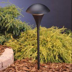Kichler Tannery Bronze Landscape Path Light - #87787 | LampsPlus.com