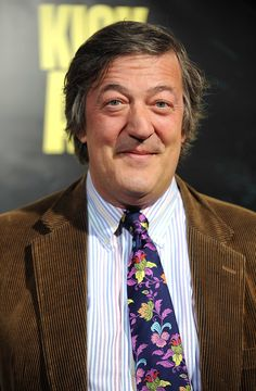 """Stephen Fry, August 24, 1957. """"An original idea. That can't be too hard. The library must be full of them."""""""