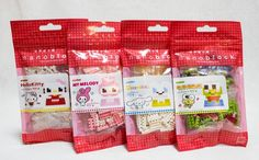 Set of 4 Sanrio Kawada Nanoblock Nano Block NBCC-010-13  JAPAN ANIME FIGURE