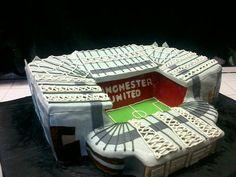 Old Trafford Birthday Cake