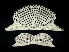 Ravelry: Sea Shell Lace pattern by A. Crochet Bikini, Crochet Top, Crochet Boarders, A Hook, Sea Shells, Crochet Projects, Stitch, Lace, Pattern