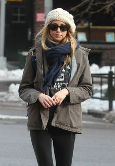Whitney Port, fall street style, casual