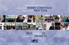 Andrea Bocelli Foundation - Holiday 2012 - Bringing good cheer into 2013!