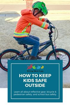 How to Keep Kids Safe Outside the Car with Lil Worker Safety Gear   Driving Mom Crazy Happy Mom, Happy Kids, Parenting Memes, Parenting Advice, School Bus Safety, Safety Tips, Safety Rules, Parent Resources, Gentle Parenting