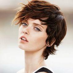 cabello corto mujer - Buscar con Google