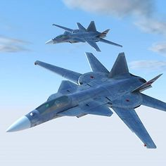 Multi-use interceptor Sukhoi which was planned in the late Large machine of the full-length The wing is divided into before and after a variable wing. Military Jets, Military Aircraft, Air Fighter, Fighter Jets, Concept Ships, Concept Cars, Eagle Project, Aircraft Propeller, Train Art