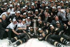 On June 6th, 2007 the Anaheim Ducks beat the Ottawa Senators in the Stanley Cup Final 4 games to 1.  http://ducksnpucks.com/2014/06/06/this-date-in-ducks-history-june-6th-2007/