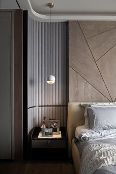 Home Remodel Light Fixtures 40 Colorful Modern Bedroom You Will Definitely Want To Keep interiors homedecor interiordesign homedecortips Luxury Bedroom Design, New Interior Design, Home Bedroom, Bedroom Decor, Bedroom Ideas, Bedroom Lighting, Suites, Bedroom Styles, Contemporary Bedroom