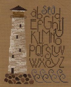The Lighthouse Cross Stitch Design by Bent Creek by carolinagirlz2