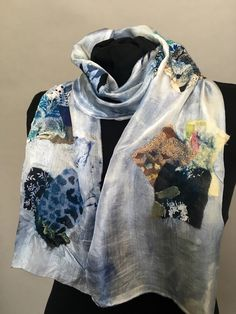 A personal favorite from my Etsy shop https://www.etsy.com/listing/274545954/nuno-felt-summer-silk-scarf-collection