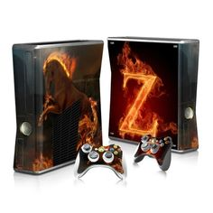 Zoro Xbox 360 skin for Xbox 360 console and 2 controllers. Choose your favorite design from a huge range of Cool Xbox 360 skins collection for Xbox 360 Console. Xbox 360 Console, Xbox One Skin, Console Styling, Ps4 Skins, New Video Games, Xbox 360 Games, Pokemon Fusion, Super Smash Bros