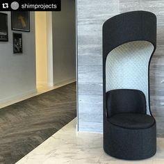 """Corbett Inc. on Instagram: """"Connection Zone Privacy Booth spotted by @shimprojects ・・・ Cone of silence #4thstreetcommons #kifurniture #shimprojects #ISpyKI @kifurniture"""""""