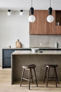 How to create the dream kitchen - Nordic Kitchen - Award winning modern kitchens in Scandinavian design. Nordic Kitchen, New Kitchen, Kitchen Dining, Kitchen Decor, Kitchen Styling, Swedish Kitchen, Rustic Kitchen, Kitchen Ideas, Modern Kitchen Design