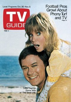 October 30, 1971, with Donna Mills of The Good Life
