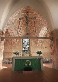 Altar of Espoo cathedral, Finland Church Architecture, Amazing Architecture, The Beautiful Country, Beautiful Places, Cities In Finland, Grave Monuments, Home Temple, Church Interior, Cathedral Church