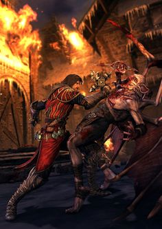 Gabriel vs Vampire - Castlevania: Lords of Shadow