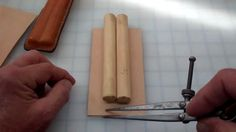 Making a simple leather cigar case MXS